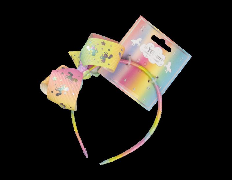Kids Pastel Rainbow Hair Accessories With FSDU