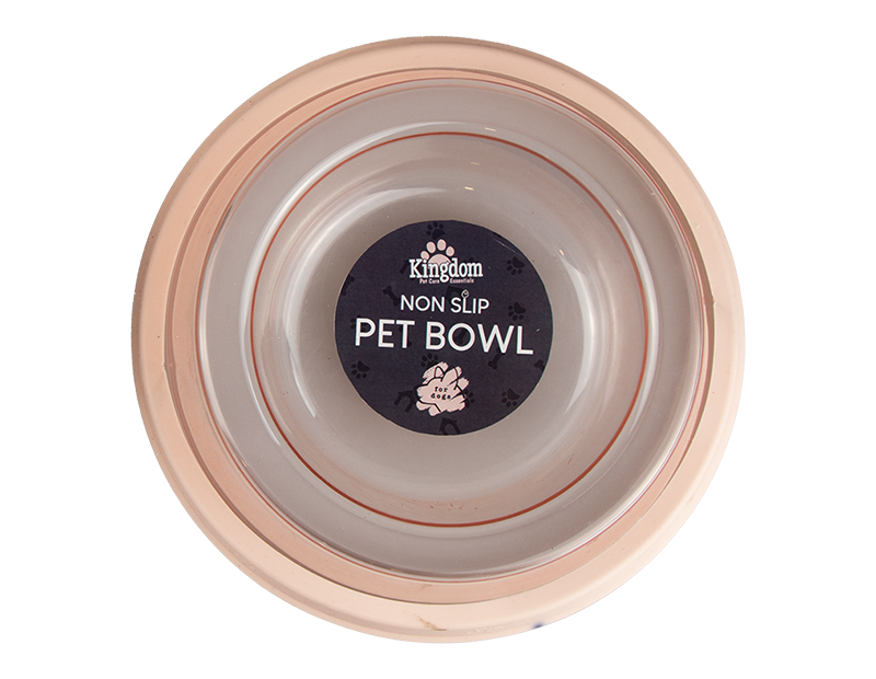 Transparent Non Slip Dog Bowl
