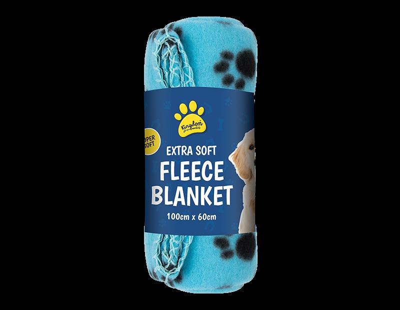 Pet Fleece Blanket 60cm x 100cm