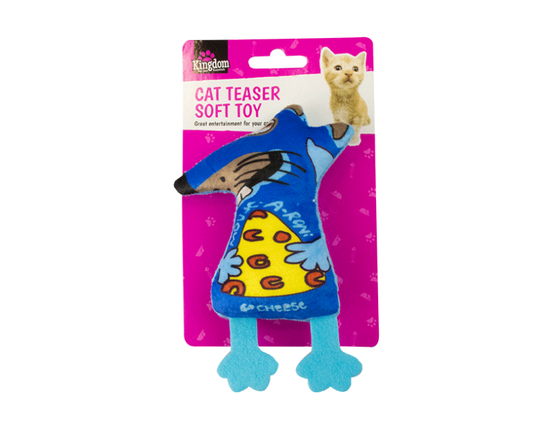 Cat Teaser Soft Toy