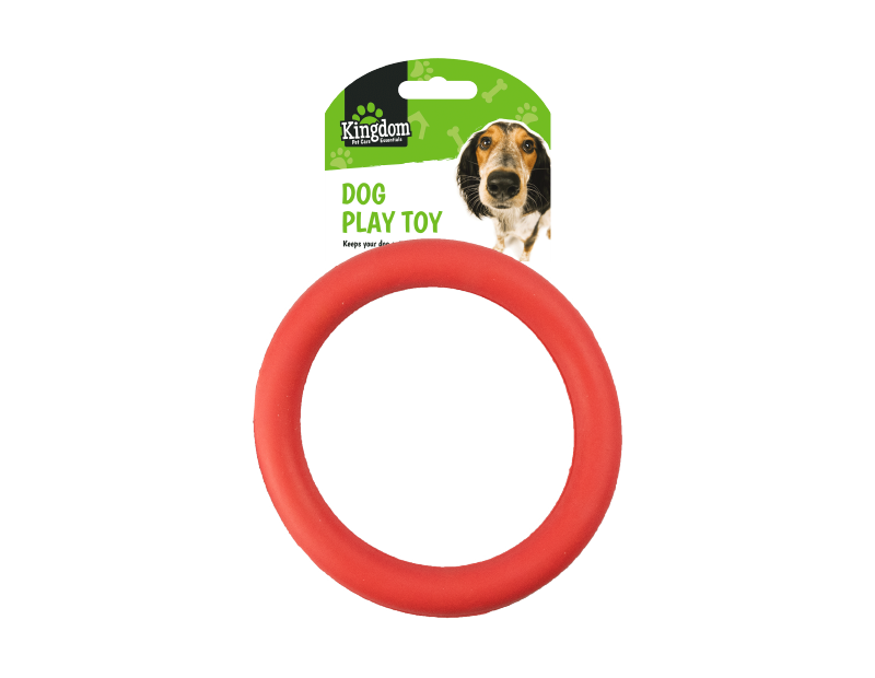Rubber Dog Play Toy