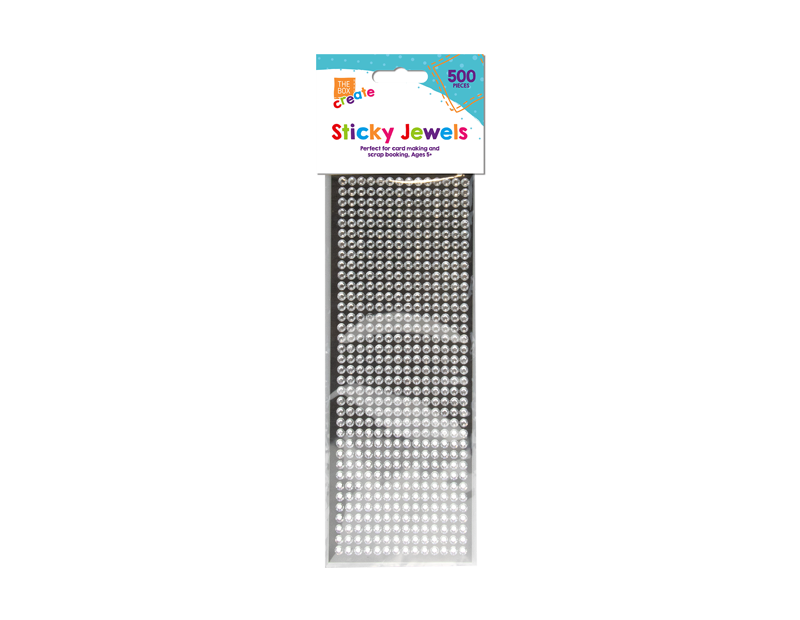Self Adhesive Jewels - 500 Pack