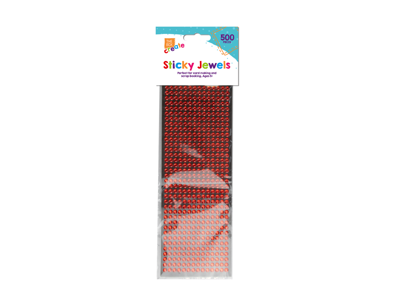 Self Adhesive Jewels - 500 Pack