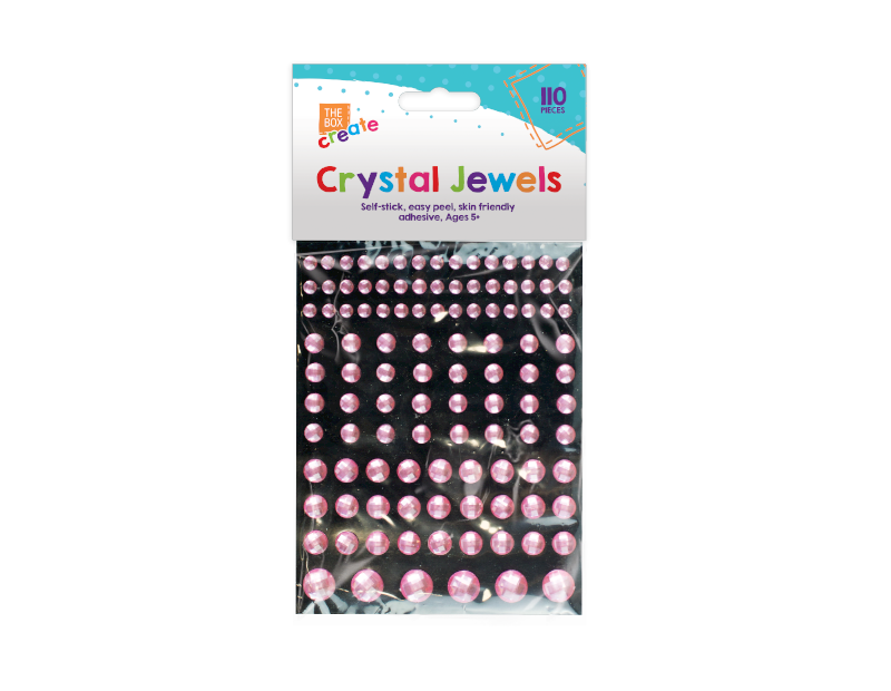 Self Adhesive Gems - 110 Pieces