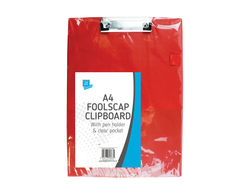 A4 Foolscap Clipboard