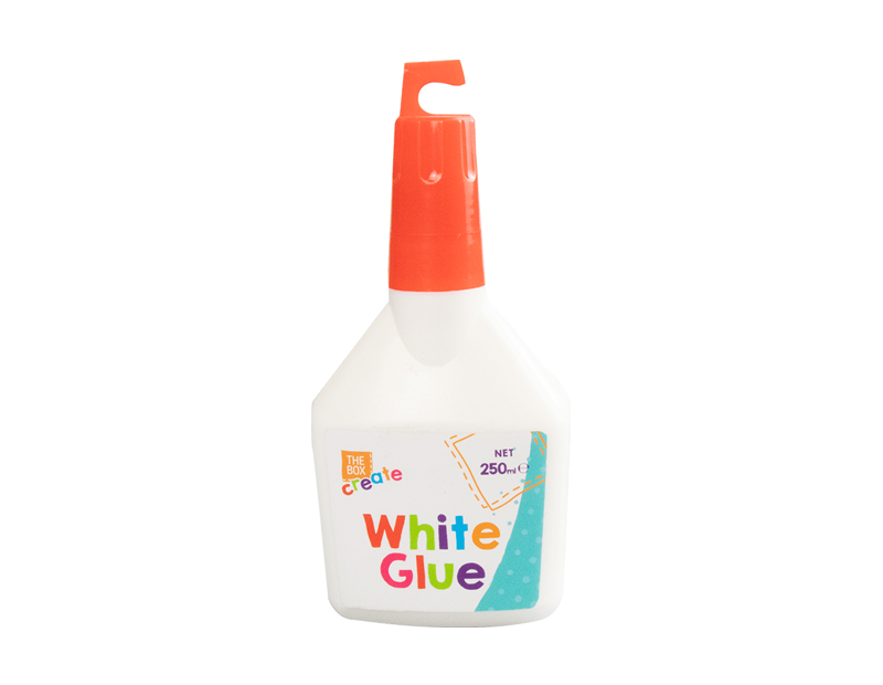 White PVA Glue 250ml With PDQ