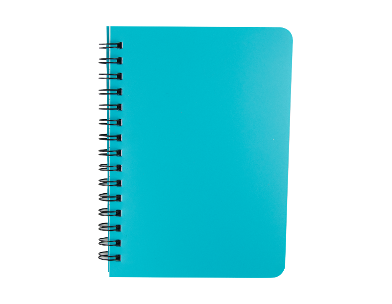 A5 Wiro Notebook With Plastic Cover