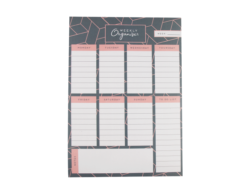 Weekly Planner Pad With PDQ