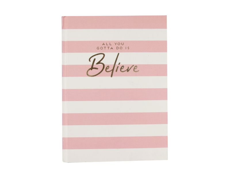 A5 Foil Case Bound Notebook With PDQ