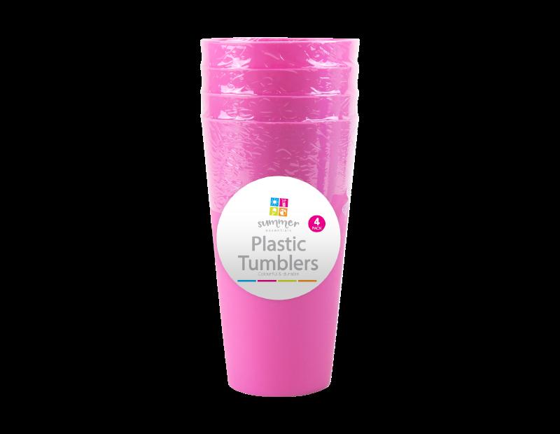 Tall Plastic Tumblers