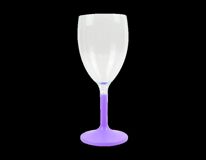 Colour Stem Wine Glass