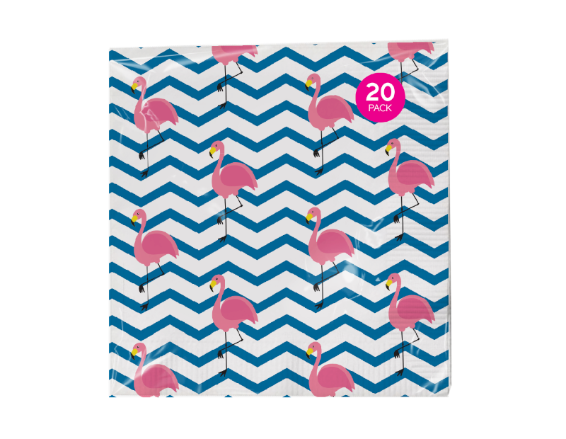 Summer Napkins 3 Ply - 20 Pack (With PDQ)