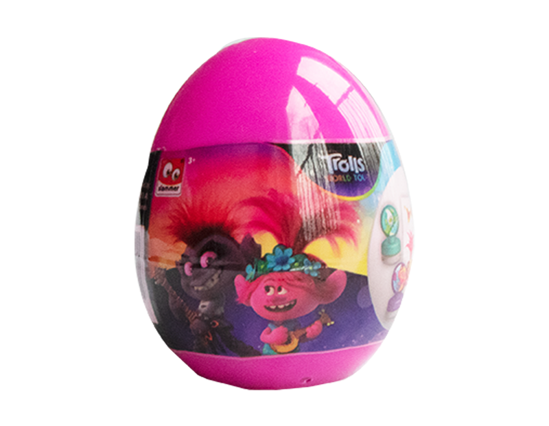 Trolls Surprise Egg With PDQ