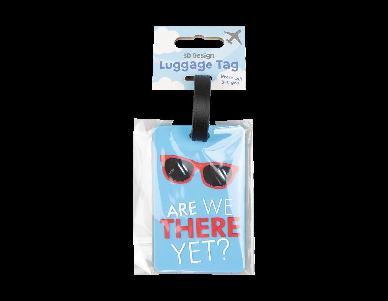 Slogan Luggage Tag