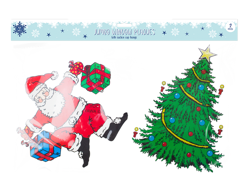 Christmas Large Window Plaques