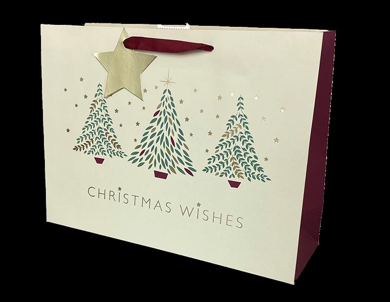Christmas Traditional Luxury Large Gift Bag