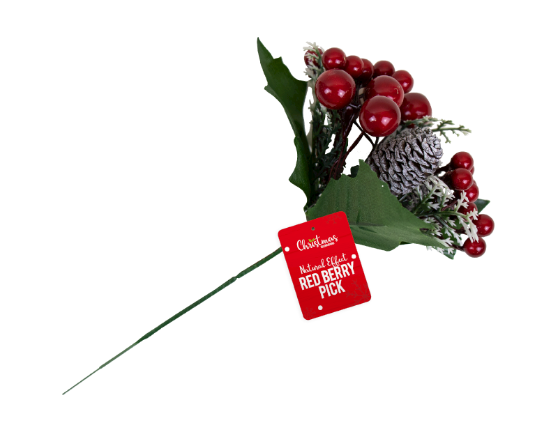 Christmas Red Berry Pick With PDQ