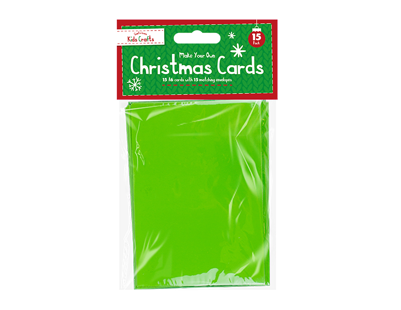 Christmas Cards Craft Set - 15 Pack