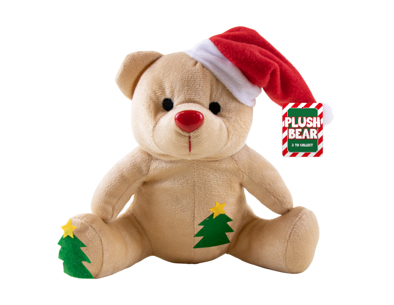 Christmas Plush Bear Decorations