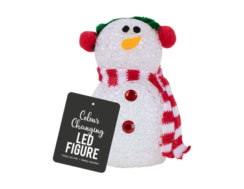 Colour Changing LED Christmas Character With PDQ