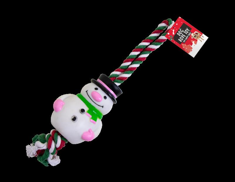Christmas Rope Dog Toy