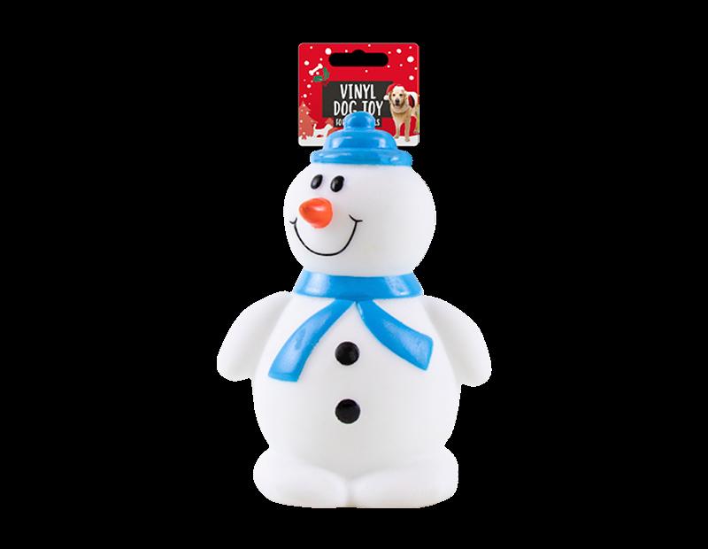 Christmas Vinyl Dog Toy