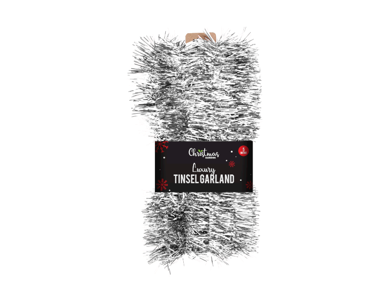 Christmas Tinsel Garland