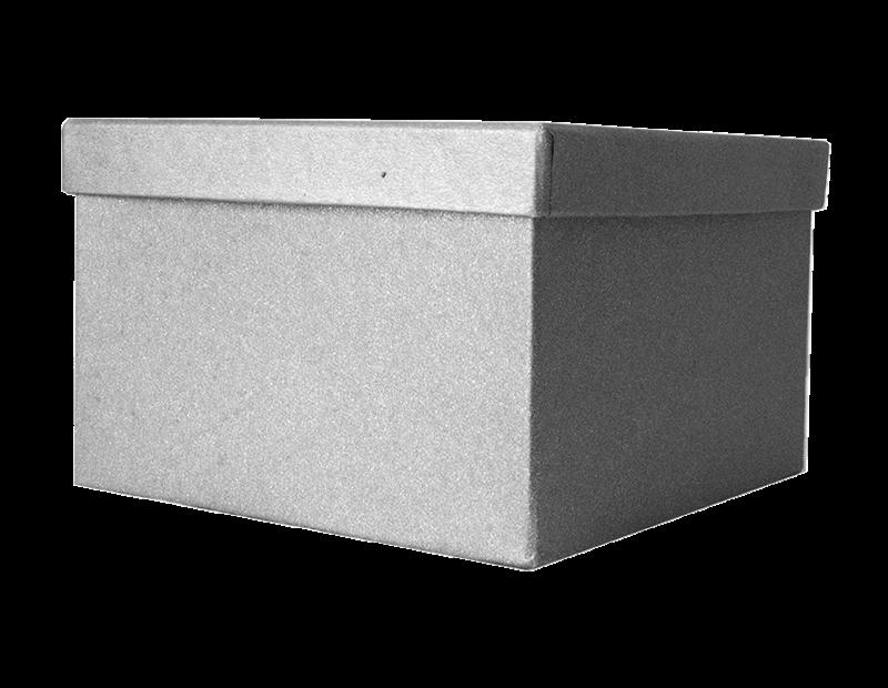 Square Glitter Gift Box 16cm x 16cm