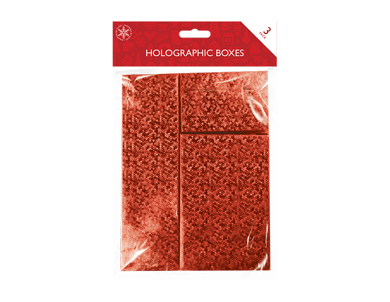 Holographic Boxes 3 Pack