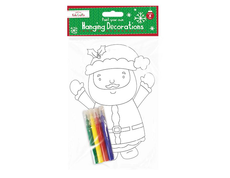Colour Your Own Hanging Decoration