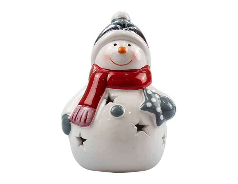 Ceramic Christmas LED Ornament