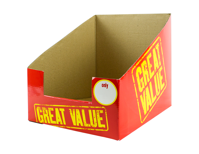 Great Value Display Box 25cm x 30cm