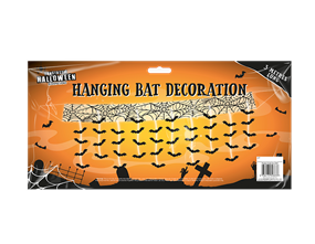 Halloween Gruesome Bat Attack