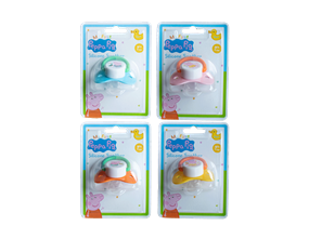 Wholesale Peppa Pig Silicone Soothers | Gem Imports Ltd