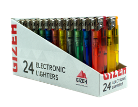 Wholesale Gizeh Electronic Lighters | Gem Imports Ltd