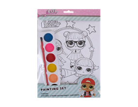 LOL SURPRISE PAINTING SET