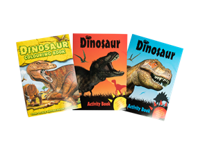 Wholesale Dinosaur Activity Books | Gem Imports Ltd