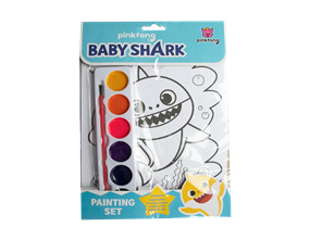 Wholesale Baby Shark Painting Sets | Gem Imports Ltd