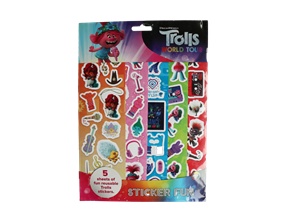 Wholesale Trolls Sticker Fun | Gem Imports Ltd