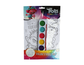Wholesale Trolls Painting Sets | Gem Imports Ltd