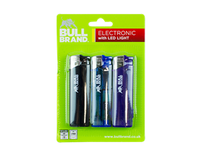 Wholesale Bull Brand LED Lighters | Gem Imports Ltd