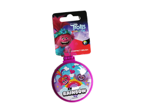 Wholesale Trolls Compact Hair Brushes | Gem Imports Ltd