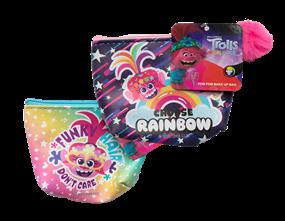Wholesale Trolls Pom Pom Make Up Bags | Gem Imports Ltd