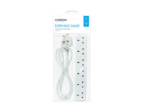 Wholesale 6 Socket Extension Leads | Gem Imports Ltd