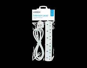 Wholesale 6 Socket Extension Leads | Gem Imports Ltd