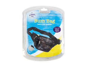 Bum Bag WIth Zipped Pockets