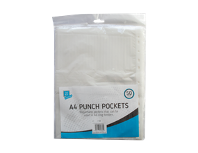 Wholesale A4 Punch Pockets | Gem Imports Ltd