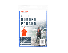 Wholesale Adult Hooded Poncho | Gem Imports Ltd