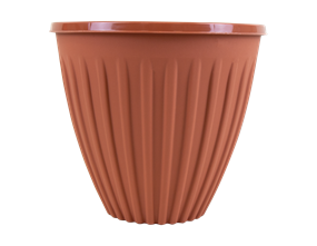 Round Terracotta Planter 22cm