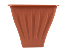 Square Terracotta Planter 22cm